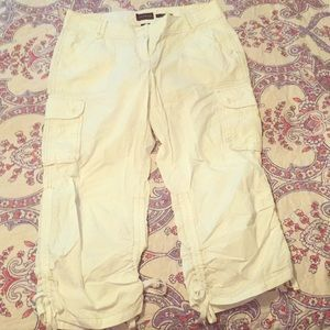 The limited cargo capris. Size 8